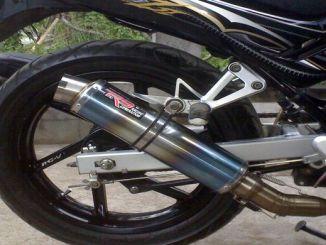 Inilah Efek Knalpot Racing Digunakan Pada Motor Standart