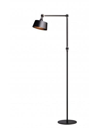 lampadaire industriel bolt grand avec deux bras articule par anton de groof x tonone