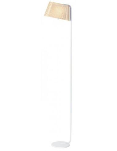 lampadaire led au design scandinave owalo 7010 en bois naturel par secto design