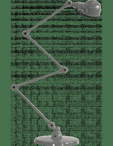 lampadaire articule signal si433 au design industriel en metal par jielde