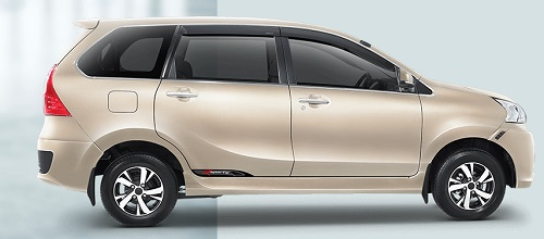 Exotic Beige Metalic Great New Daihatsu Xenia