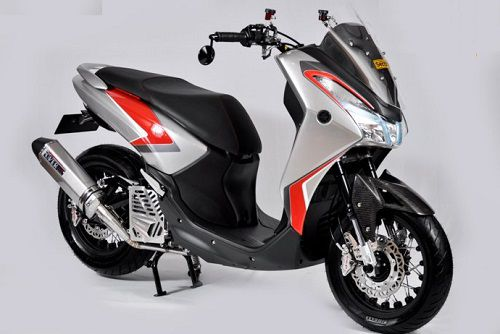 Daftar Modifikasi Yamaha Lexi 125 Terbaik