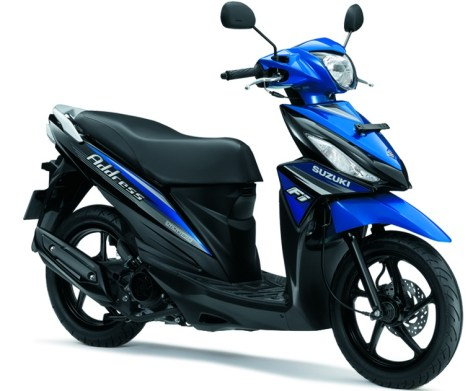 Suzuki Address 125 Indonesia (1)
