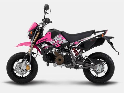 Kawasaki KSR 110 pink philippiness otomercon (4)