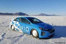 Ioniq Land Speed Record Car