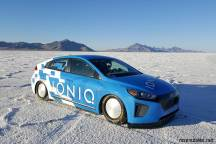 Ioniq Land Speed Record Car
