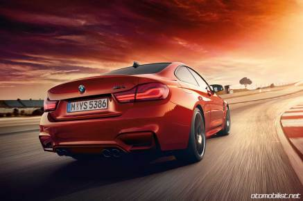 2018 BMW M4 Coupe pistte arkadan