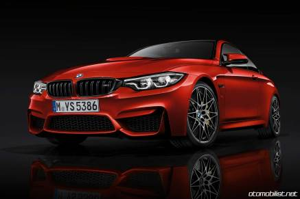 2018 BMW M4 Coupe Stüdyo çekim önden