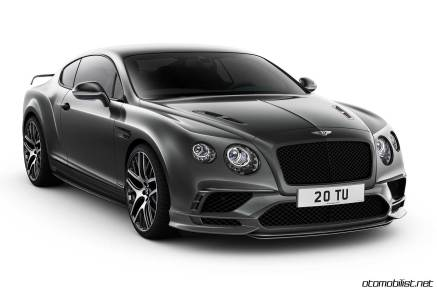 Bently 2017 Continental Supersports front