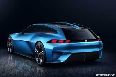 Peugeot Instinct Concept Arka taraf