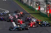 Formula 1 Avustralya GP start