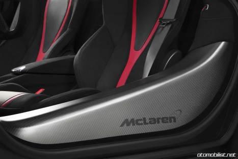 2018 McLaren 720S Velocity Koltuklar