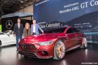 Mercedes-AMG GT Concept 2017 Cenevre Fuar