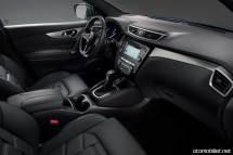 2018 Nissan Qashqai konsol