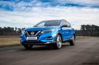 2018 Nissan Qashqai Blue Dynamic