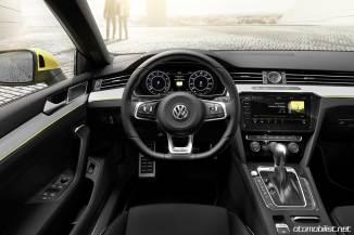 2018 Volkswagen Arteon Elegance R-Line konsol vites