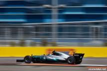 2017 Formula 1 Rusya GP Mercedes