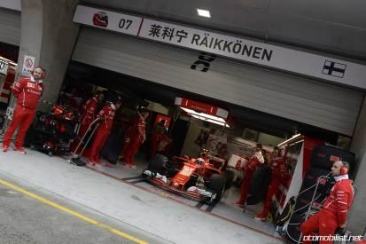2017 Formula 1 Chinese Grand Prix Kimi Raikkonen Ferrari
