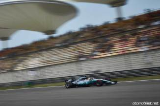 2017 Formula 1 Chinese Grand Prix Lewis Hamilton Mercedes