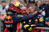 2017 Formula 1 Chinese Grand Prix Max Verstappen Red Bull Racing