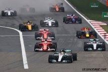 2017 Formula 1 Chinese Grand Prix ilk viraj