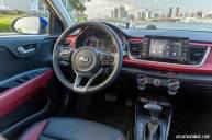 2018 Kia Rio Sedan konsol