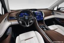 2018 Subaru Ascent SUV Concept Konsol direksiyon
