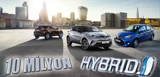 Toyota'nın Hibrit Satışları 10 Milyon Adedi Aştı