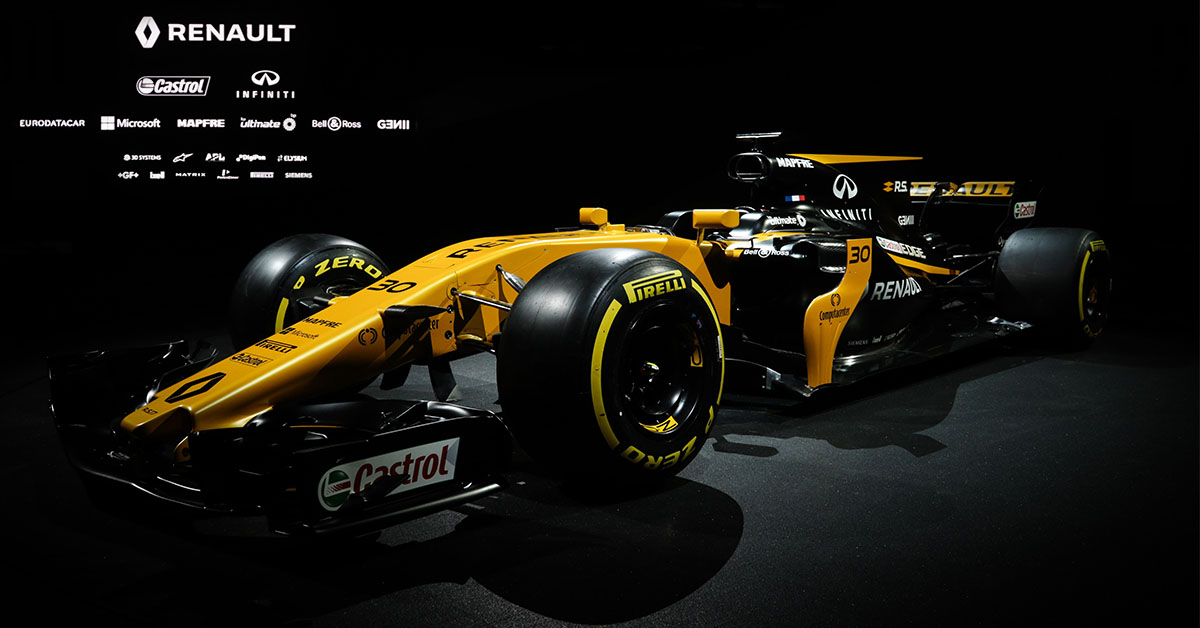 Renault Sport Formula 1 Takımı R.S.17 Tanıtıldı
