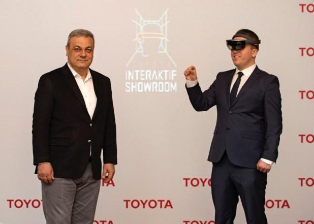 Toyota Türkiye Paz. Sat. A.Ş.CEO'su Ali Haydar Bozkurt ve Dijital Uygulama 2
