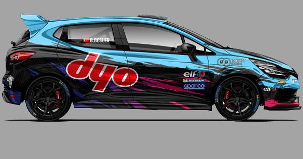 Berkay Clio Cup İtalya Serisinde