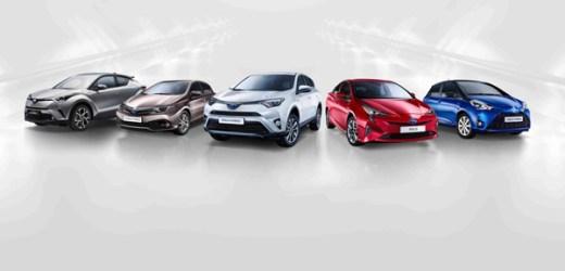 Toyota 'nın Avrupa Satışlarının Yüzde 40'ı Hibrit Oldu