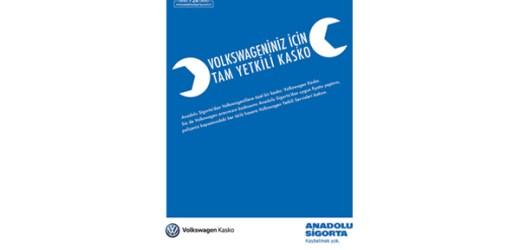 Anadolu Sigorta'dan Yalnızca Volkswagenlilere Özel Bir Kasko: Volkswagen Kasko
