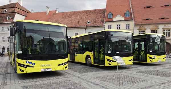 Anadolu Isuzu Romanya'da 38 araç teslimatı yaptı