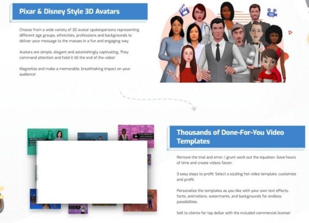 AvatarBuilder 3D Video Animation App Software by Paul Ponna 9