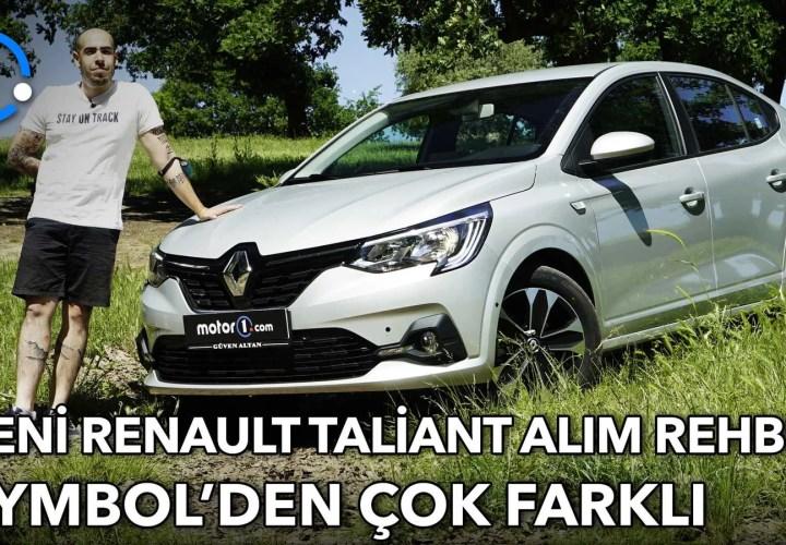 2021 Renault Taliant | Symbol'den Daha Fazlası
