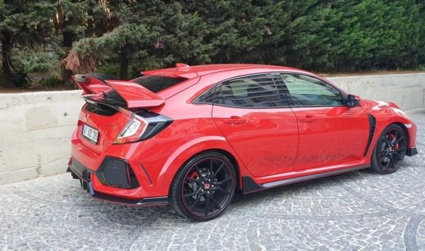 Honda Civic Type R 2019 Test Sürüşü