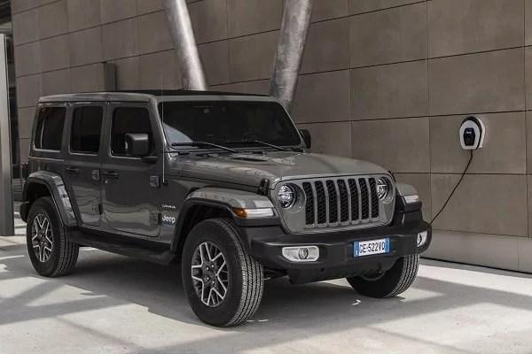 Jeep Wrangler PHEV 2021. 2021 hibrit otomobiller. 0 km hibrit arabalar.