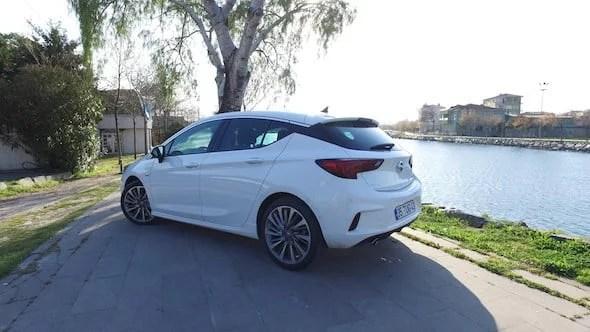 Opel Astra OPC Line Test Sürüşü 2017