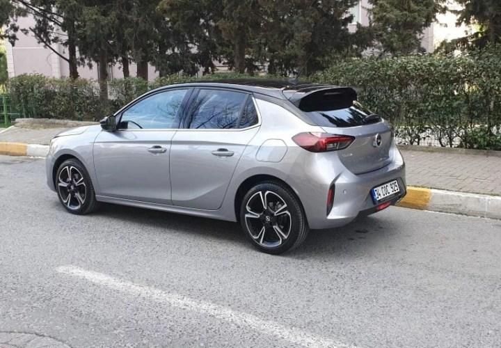 Opel Corsa 2020 Test Sürüşü