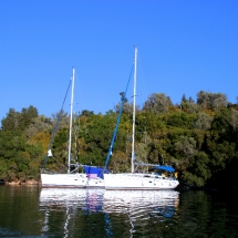 Einsame Bucht auf Meganisi