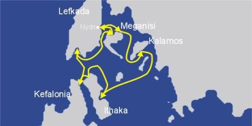 Ihr Segeltörn im Ionischen Meer