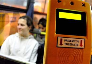 Desde el lunes boleto gratis para estudiantes en Montevideo