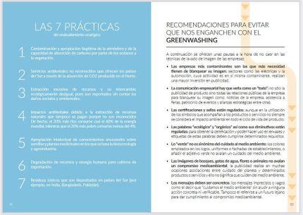 recomendaciones anti greenwashing de la publicación de adicae