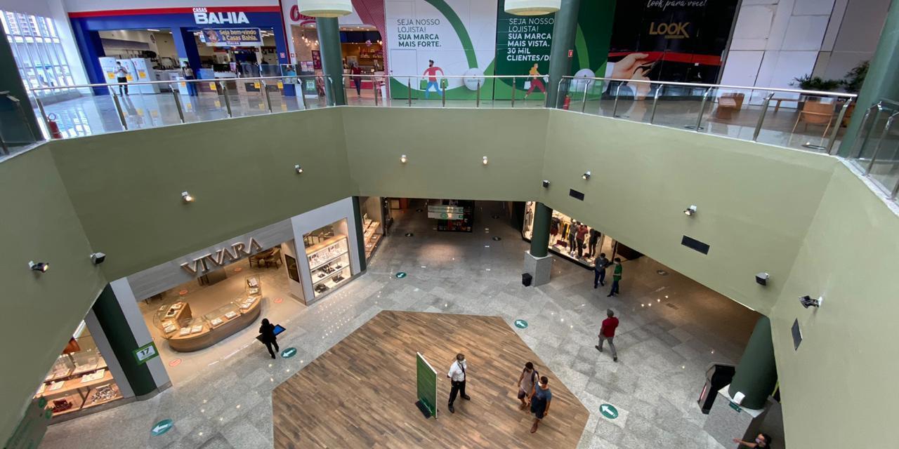 Shopping Jequitibá recebe 13 mil pessoas no primeiro dia de reabertura
