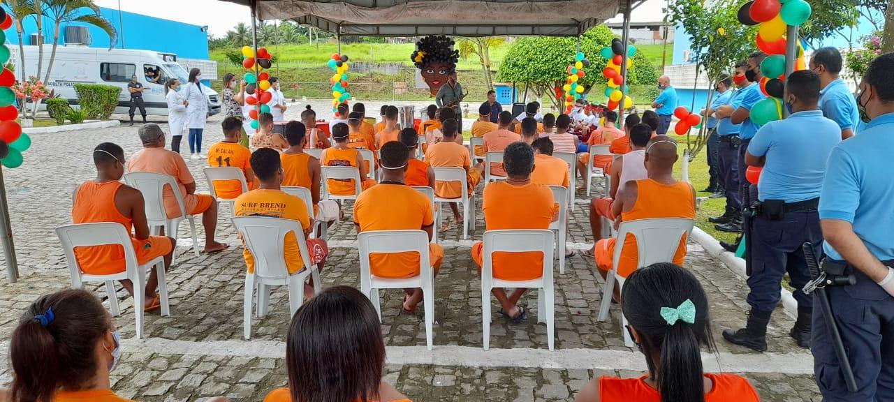 Dia da Consciência Negra foi comemorado no Conjunto Penal de Itabuna