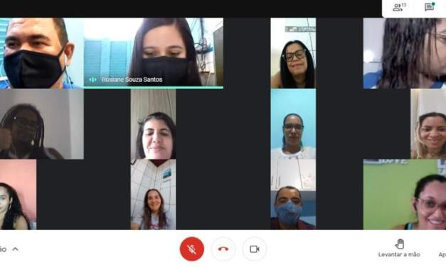 Educadores planejam o ano letivo 2020/21 de forma coletiva durante a Jornada Pedagógica Paulo Freire