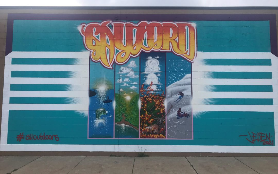Grant Spotlight: Leadership Otsego County Mural Project
