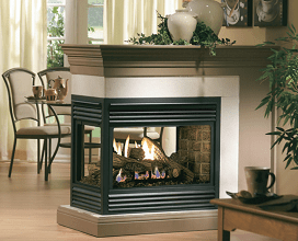 Continental Zero Clearance Multi Sided Direct Vent Gas Fireplace Sales & Installation Prices Ottawa