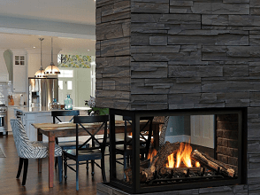 Continental Direct Vent Multi Sided Peninsula Gas Fireplace Sales & Installation Prices Ottawa